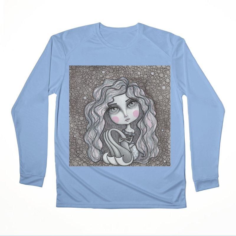 Doodle Mermaid 3 of 4 Men's Longsleeve T-Shirt by Little Miss Tyne's Artist Shop