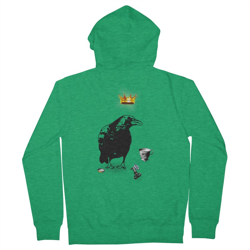 He's A Self-Made Man Women's Zip-Up Hoody by LittleMissTyne's Artist Shop