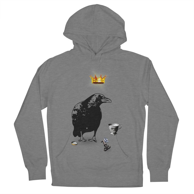 He's A Self-Made Man Men's French Terry Pullover Hoody by LittleMissTyne's Artist Shop