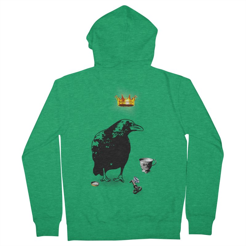 He's A Self-Made Man Women's Zip-Up Hoody by Little Miss Tyne's Artist Shop