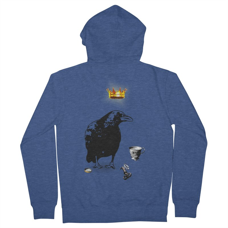 He's A Self-Made Man Men's Zip-Up Hoody by LittleMissTyne's Artist Shop