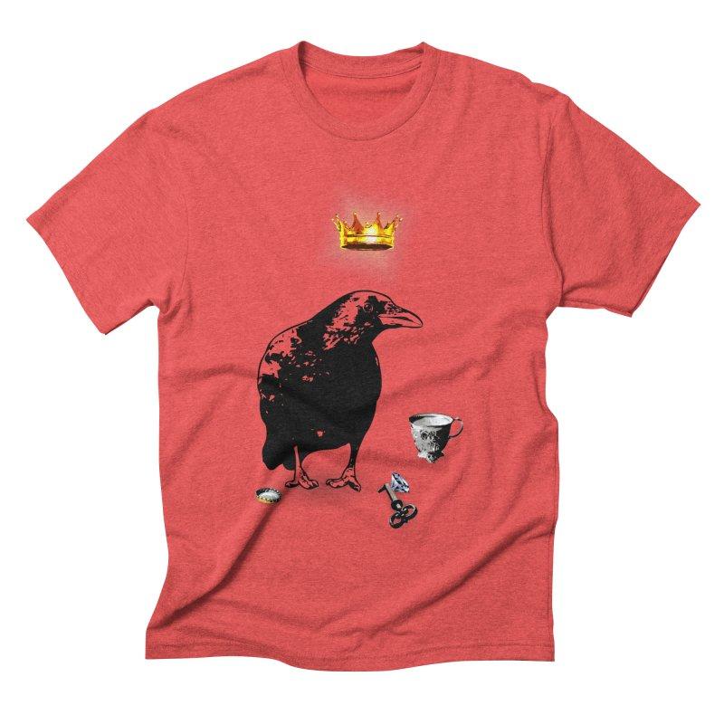 He's A Self-Made Man Men's Triblend T-Shirt by LittleMissTyne's Artist Shop