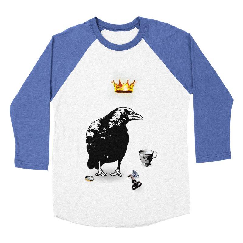 He's A Self-Made Man Men's Baseball Triblend Longsleeve T-Shirt by LittleMissTyne's Artist Shop