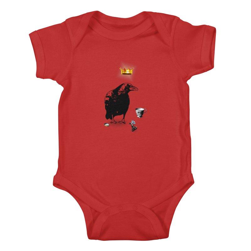 He's A Self-Made Man Kids Baby Bodysuit by LittleMissTyne's Artist Shop