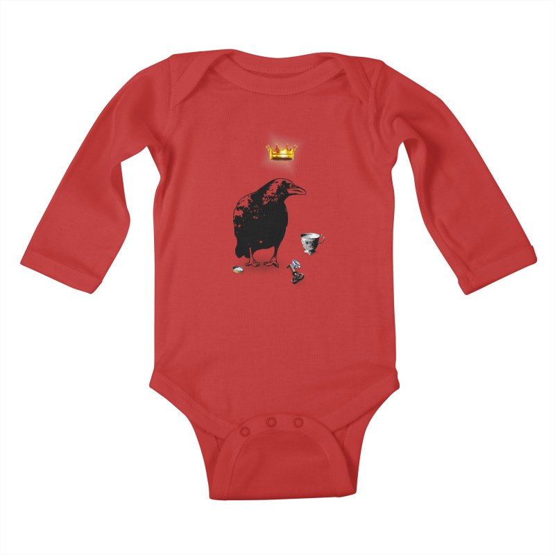 He's A Self-Made Man Kids Baby Longsleeve Bodysuit by LittleMissTyne's Artist Shop