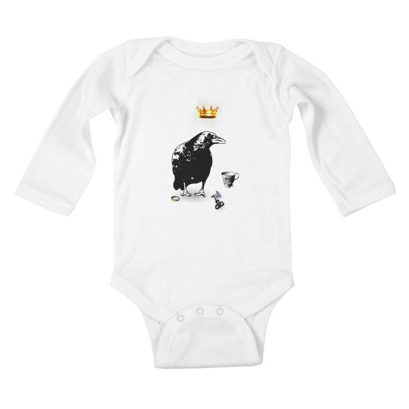 He's A Self-Made Man Kids Baby Longsleeve Bodysuit by LittleMissTyne's Artist Shop