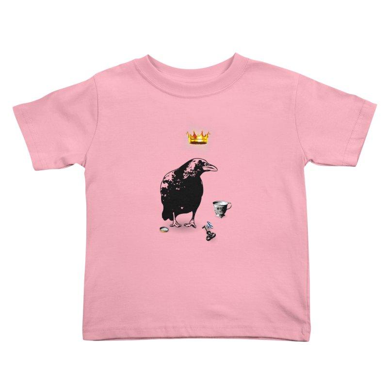 He's A Self-Made Man Kids Toddler T-Shirt by LittleMissTyne's Artist Shop