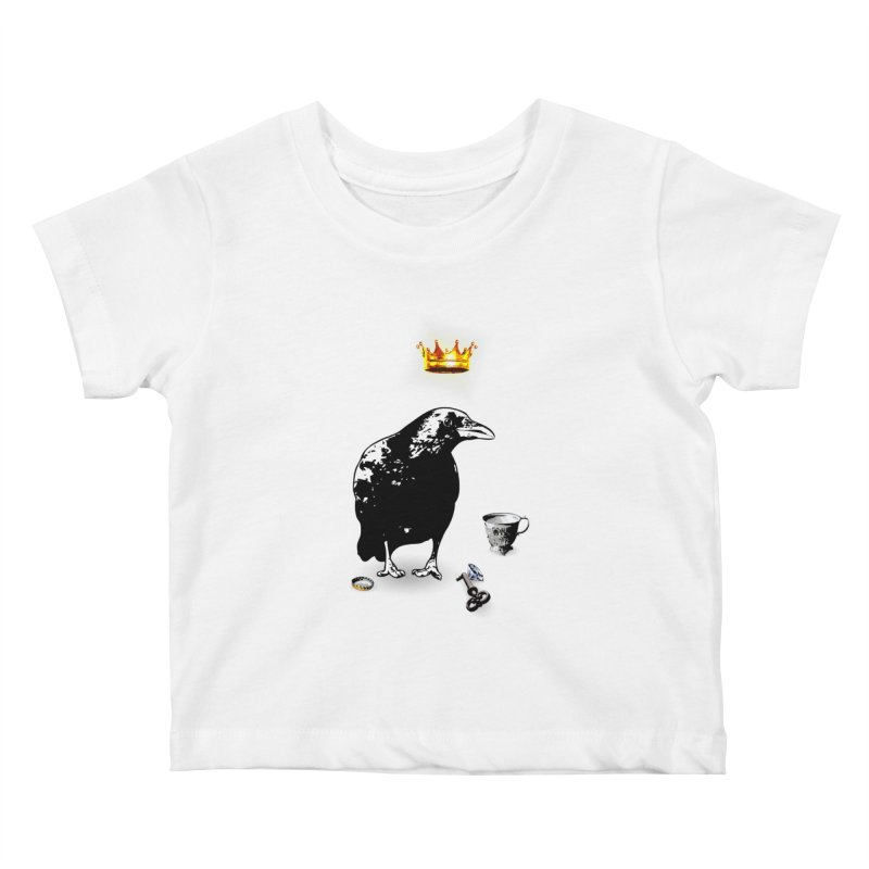 He's A Self-Made Man Kids Baby T-Shirt by LittleMissTyne's Artist Shop