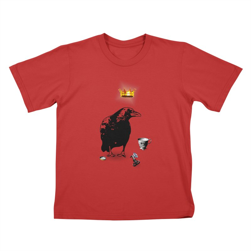 He's A Self-Made Man Kids T-Shirt by LittleMissTyne's Artist Shop