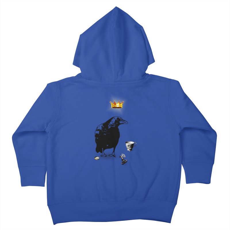 He's A Self-Made Man Kids Toddler Zip-Up Hoody by LittleMissTyne's Artist Shop