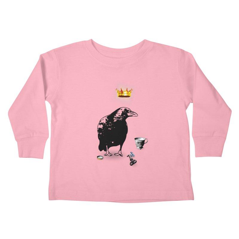 He's A Self-Made Man Kids Toddler Longsleeve T-Shirt by LittleMissTyne's Artist Shop
