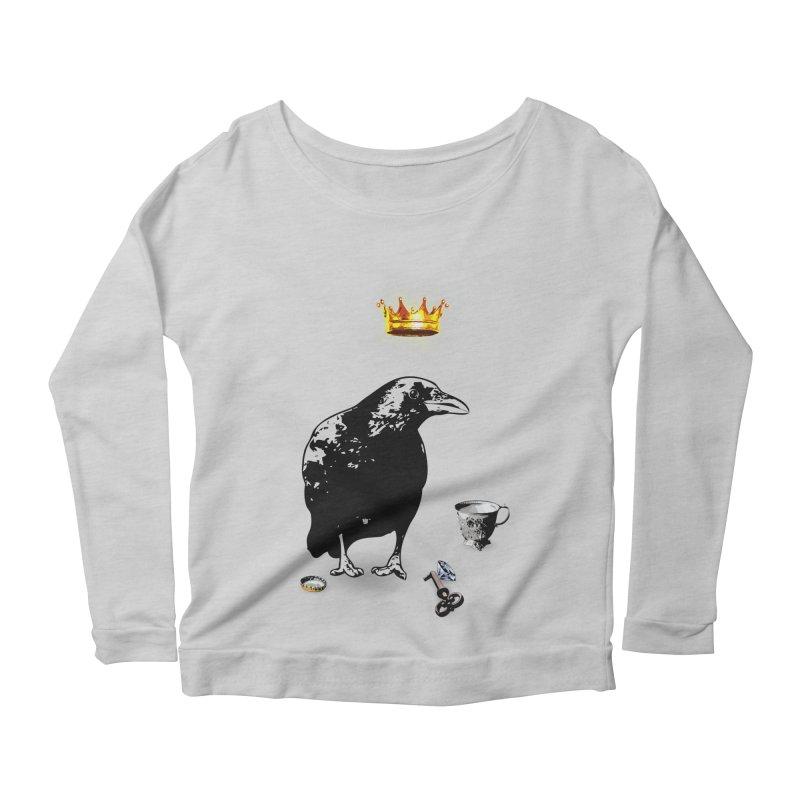 He's A Self-Made Man Women's Scoop Neck Longsleeve T-Shirt by LittleMissTyne's Artist Shop