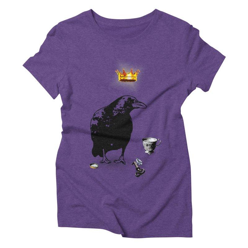 He's A Self-Made Man Women's Triblend T-Shirt by LittleMissTyne's Artist Shop