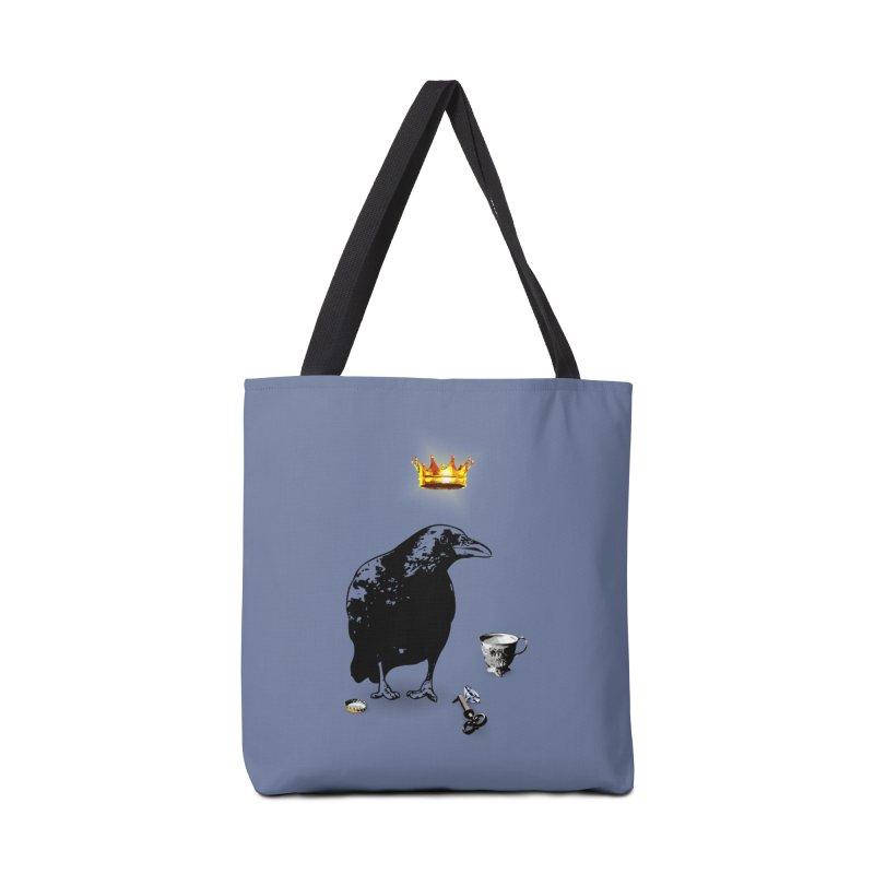 He's A Self-Made Man Accessories Bag by Little Miss Tyne's Artist Shop