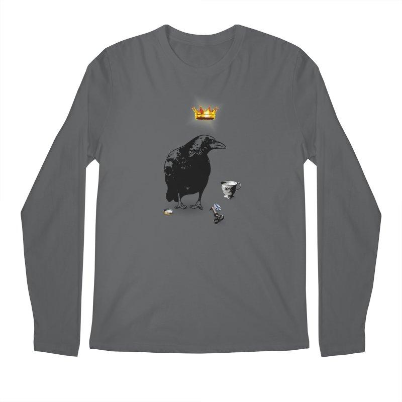 He's A Self-Made Man Men's Longsleeve T-Shirt by Little Miss Tyne's Artist Shop