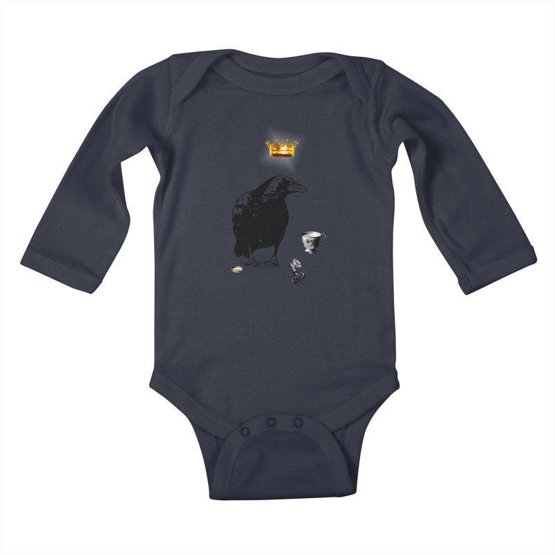 He's A Self-Made Man Kids Baby Longsleeve Bodysuit by Little Miss Tyne's Artist Shop