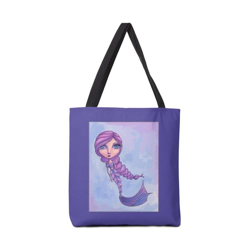 Winter Mermaid Cutie Accessories Bag by Little Miss Tyne's Artist Shop