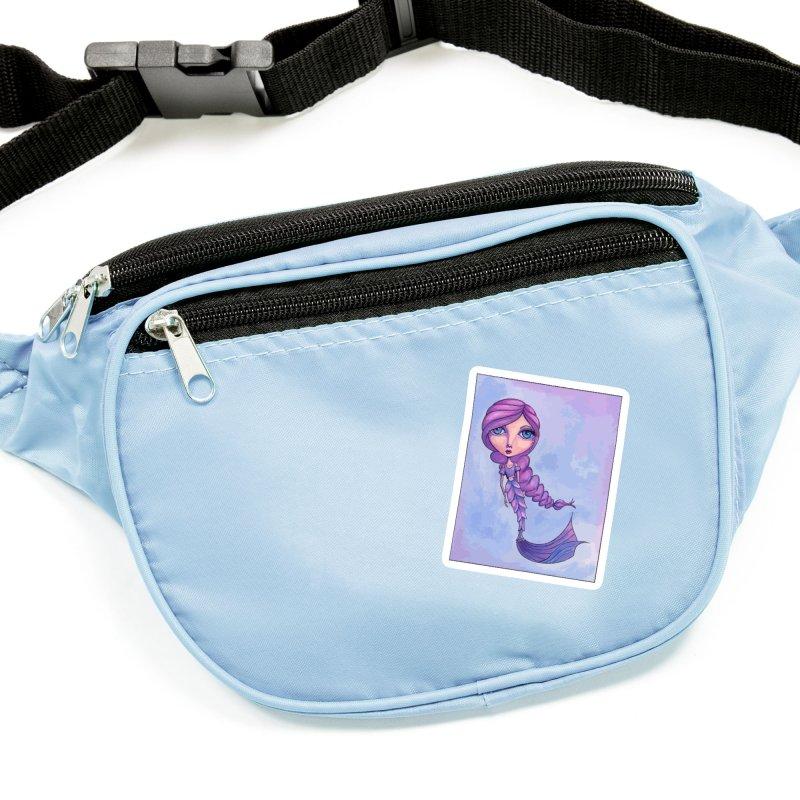 Winter Mermaid Cutie Accessories Sticker by Little Miss Tyne's Artist Shop
