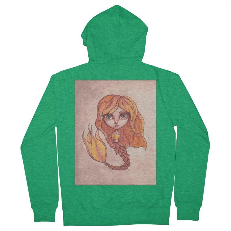 Autumn Mermaid Cutie Women's Zip-Up Hoody by Little Miss Tyne's Artist Shop