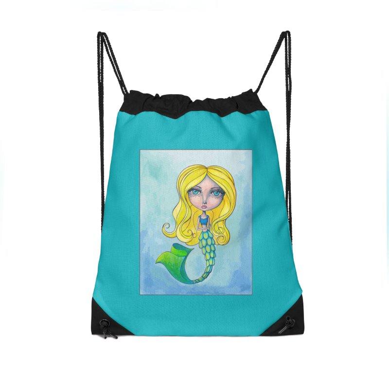 Summer Mermaid Cutie Accessories Bag by Little Miss Tyne's Artist Shop