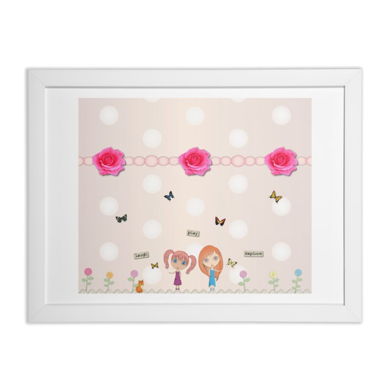 Play All Day Home Framed Fine Art Print by LittleMissTyne's Artist Shop