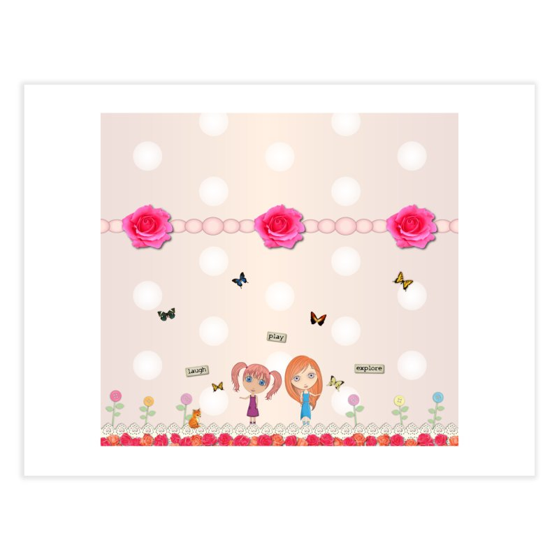 Play All Day Home Fine Art Print by LittleMissTyne's Artist Shop