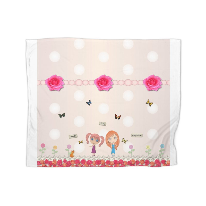 Play All Day Home Blanket by LittleMissTyne's Artist Shop