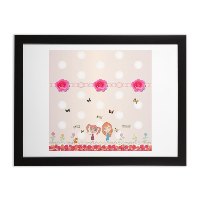 Play All Day Home Framed Fine Art Print by LittleMissTyne's Artist Shop