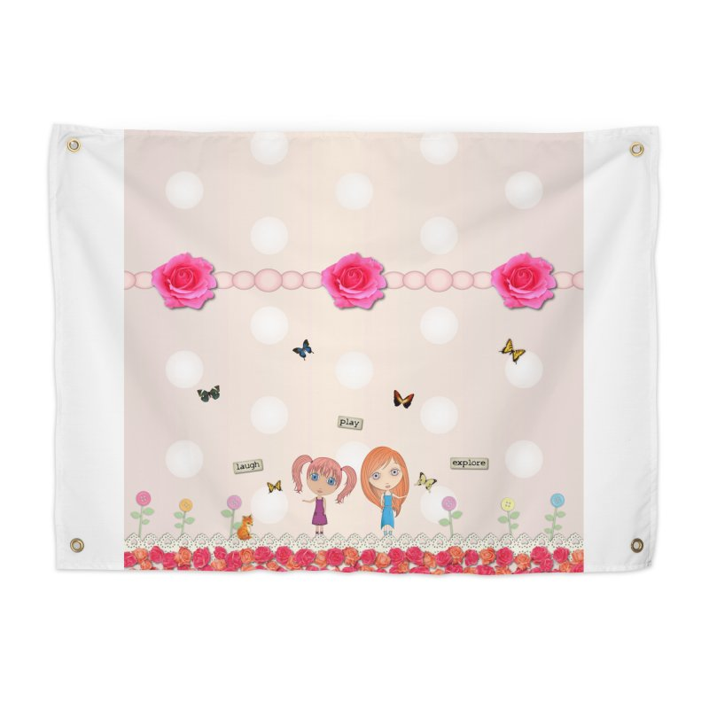 Play All Day Home Tapestry by LittleMissTyne's Artist Shop