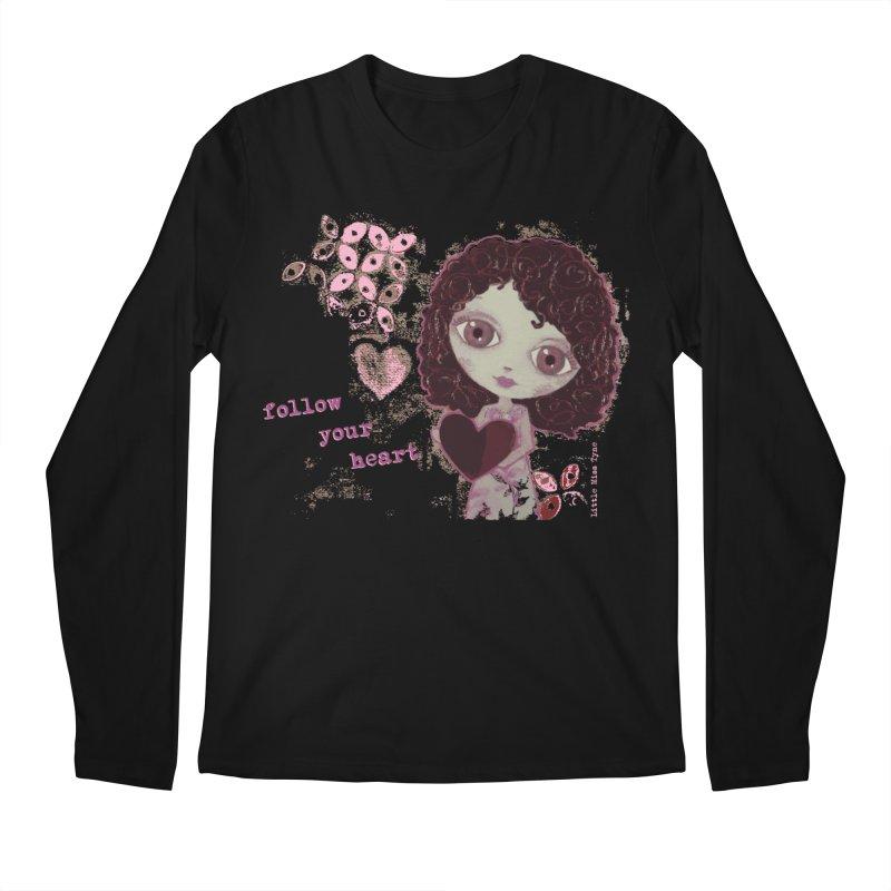 Follow Your Heart Men's Regular Longsleeve T-Shirt by LittleMissTyne's Artist Shop