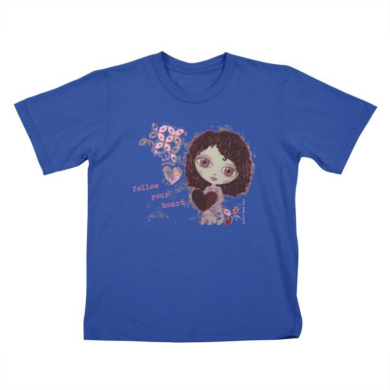 Follow Your Heart Kids T-Shirt by LittleMissTyne's Artist Shop