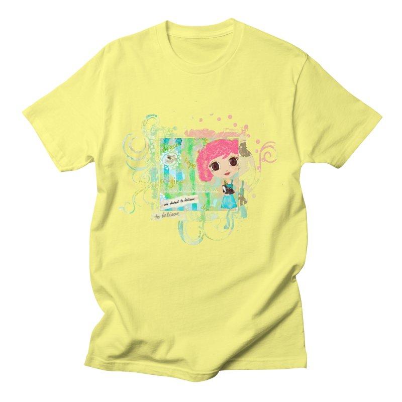 She Dared To Believe Women's Regular Unisex T-Shirt by LittleMissTyne's Artist Shop