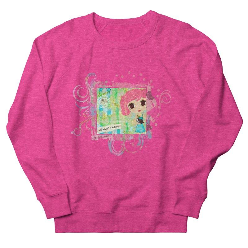 She Dared To Believe Men's Sweatshirt by LittleMissTyne's Artist Shop