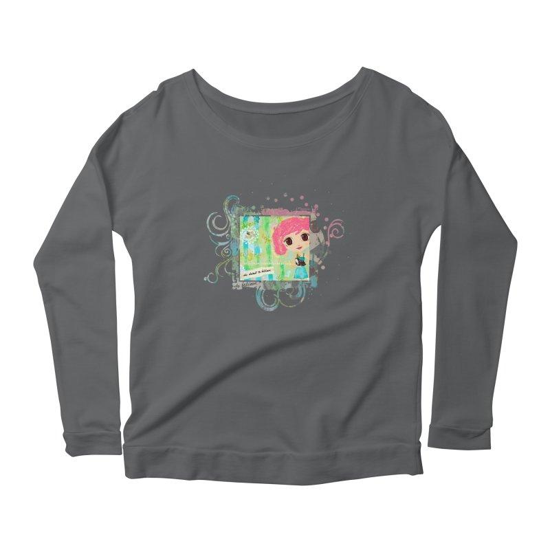 She Dared To Believe Women's Longsleeve T-Shirt by LittleMissTyne's Artist Shop