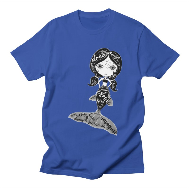 Believe In The Reality Of Your Dreams Men's T-Shirt by LittleMissTyne's Artist Shop