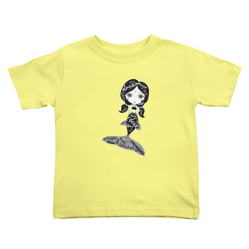 Believe In The Reality Of Your Dreams Kids Toddler T-Shirt by LittleMissTyne's Artist Shop