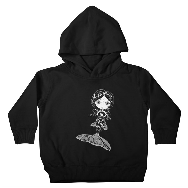 Believe In The Reality Of Your Dreams Kids Toddler Pullover Hoody by LittleMissTyne's Artist Shop