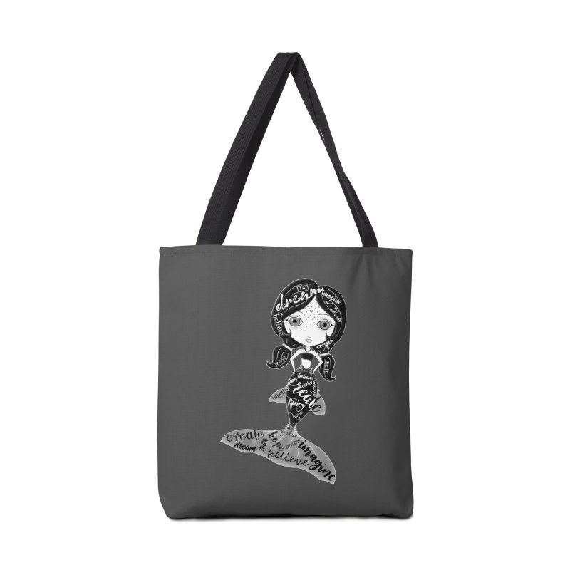 Believe In The Reality Of Your Dreams Accessories Bag by LittleMissTyne's Artist Shop
