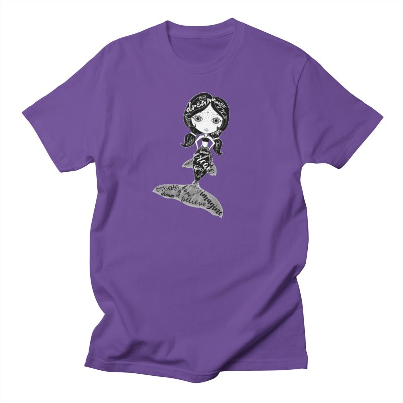 Believe In The Reality Of Your Dreams Men's T-Shirt by Little Miss Tyne's Artist Shop
