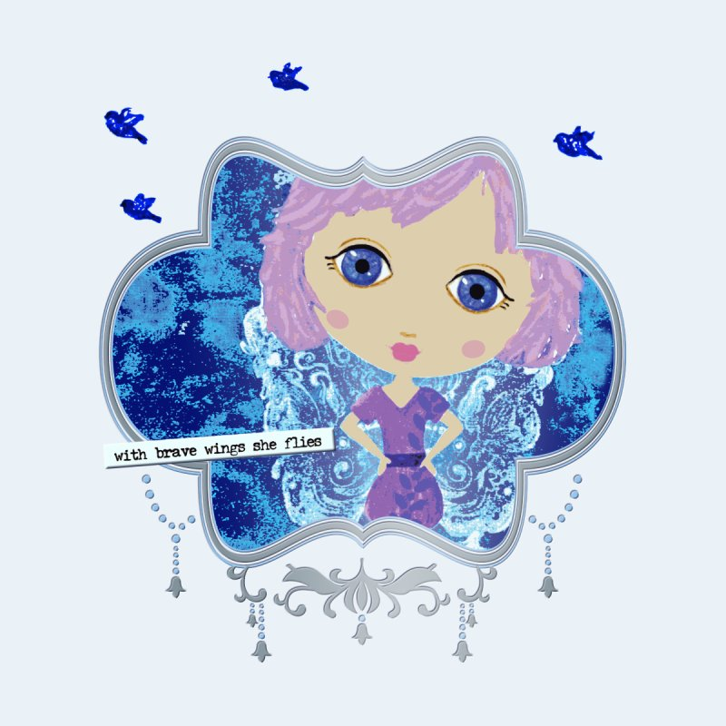 With Brave Wings She Flies   by LittleMissTyne's Artist Shop