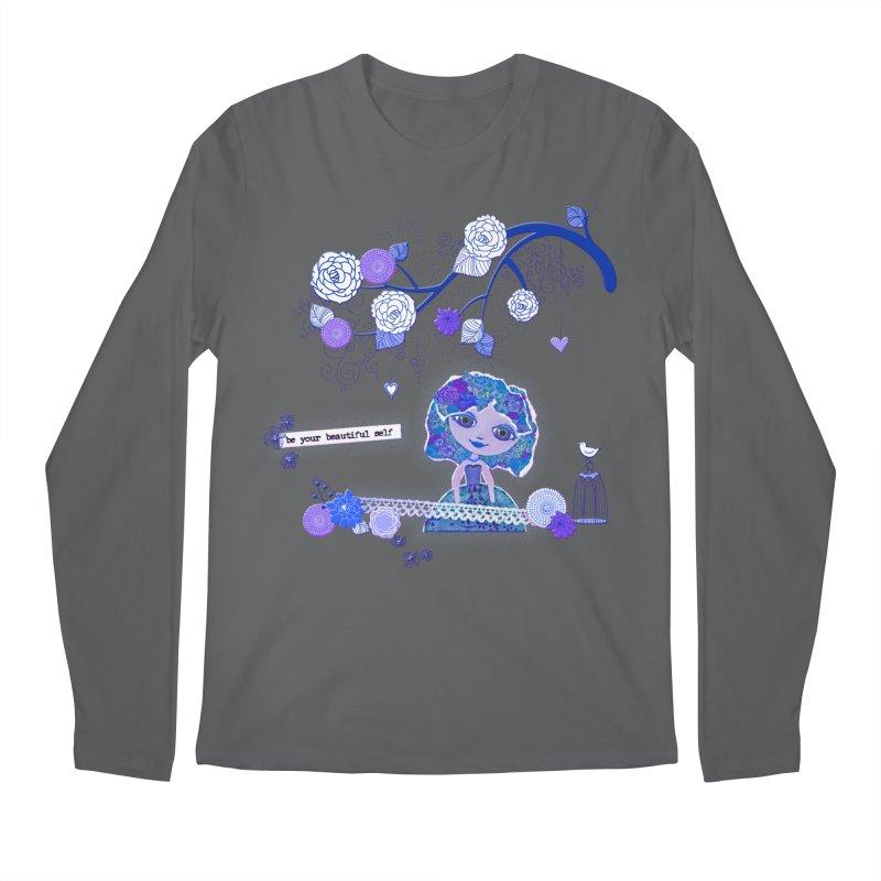 You Are Beautiful Men's Longsleeve T-Shirt by LittleMissTyne's Artist Shop