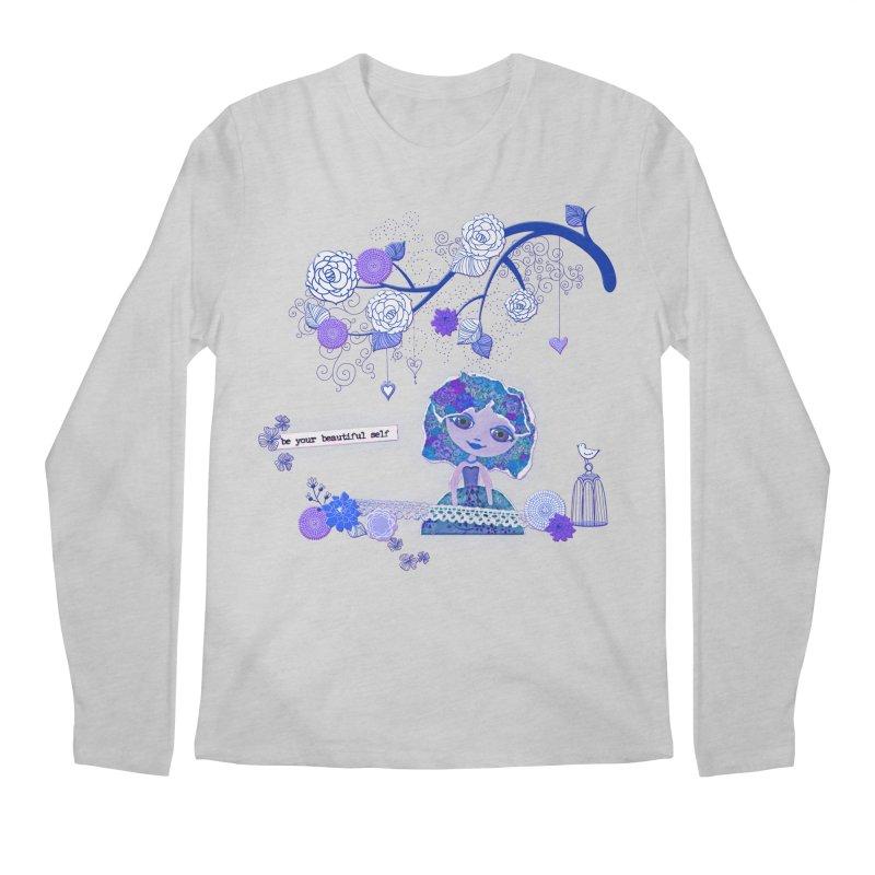 You Are Beautiful Men's Regular Longsleeve T-Shirt by LittleMissTyne's Artist Shop