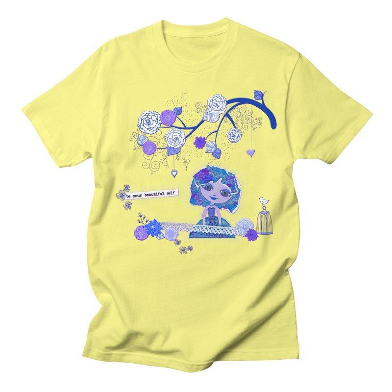 You Are Beautiful Men's Regular T-Shirt by LittleMissTyne's Artist Shop