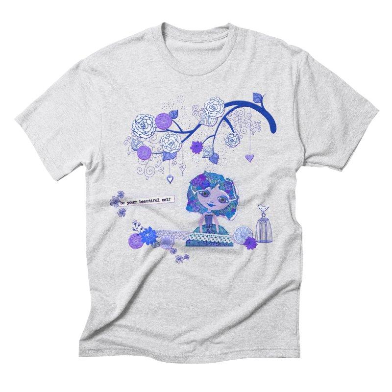 You Are Beautiful Men's Triblend T-Shirt by LittleMissTyne's Artist Shop