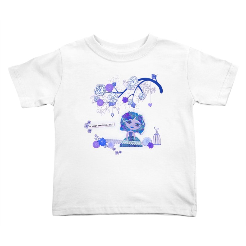You Are Beautiful Kids Toddler T-Shirt by LittleMissTyne's Artist Shop
