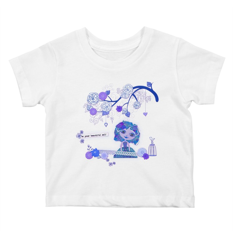 You Are Beautiful Kids Baby T-Shirt by LittleMissTyne's Artist Shop