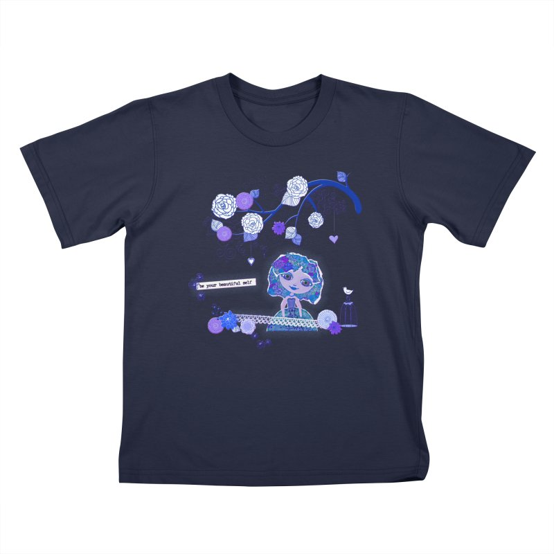 You Are Beautiful Kids T-Shirt by LittleMissTyne's Artist Shop