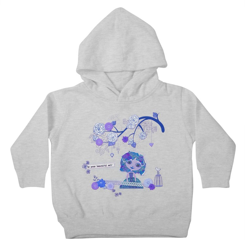 You Are Beautiful Kids Toddler Pullover Hoody by LittleMissTyne's Artist Shop