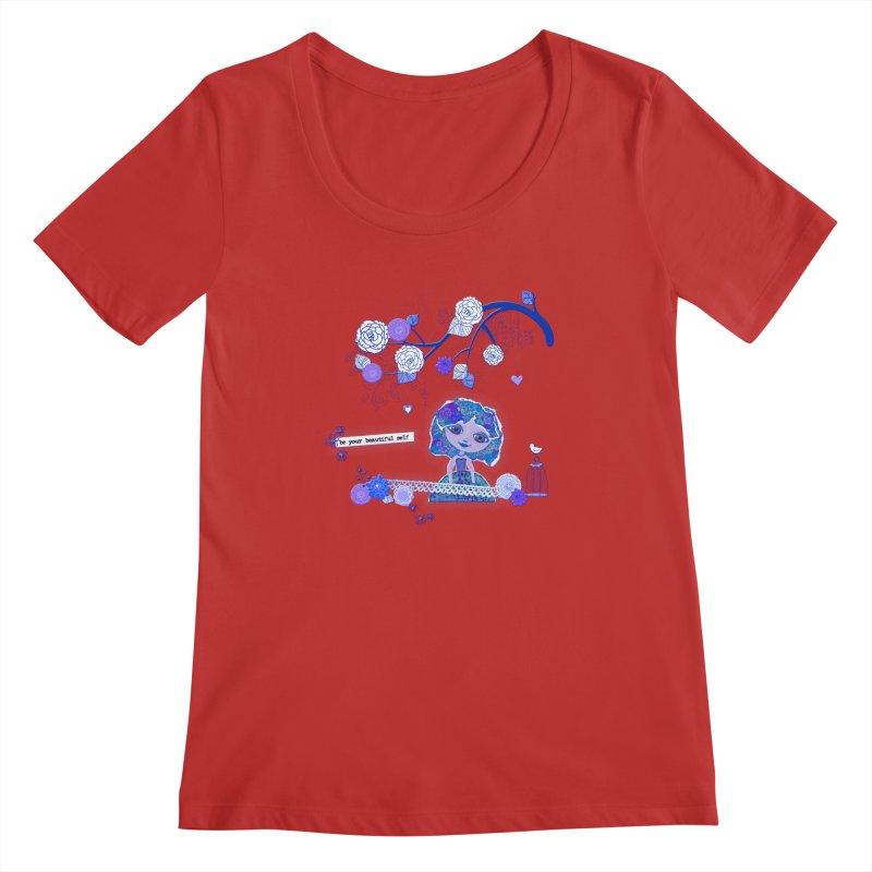 You Are Beautiful Women's Regular Scoop Neck by LittleMissTyne's Artist Shop