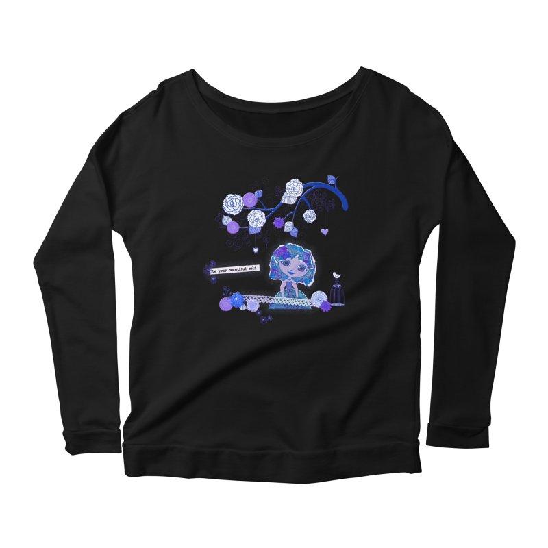 You Are Beautiful Women's Scoop Neck Longsleeve T-Shirt by LittleMissTyne's Artist Shop